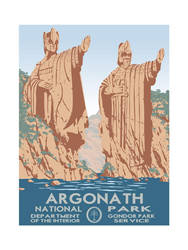 Argonath National Park, by Timothy Anderson by poasterchild