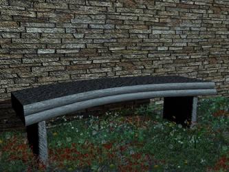 Garden Bench by Irishchicky