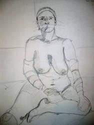 Life drawing by Irishchicky