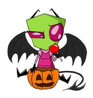 Halloween Zim by JKaz