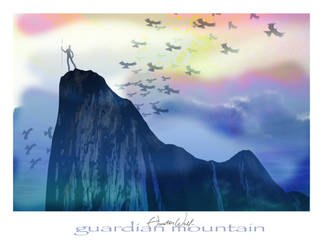 Guardian Mountain by PaladinLord