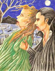 Vampires in the Moonlight by Dracfan95