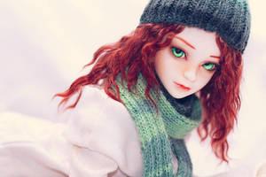Winter girl by nathalye