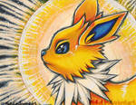Jolteon print by MiakaLin