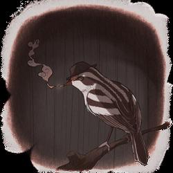 Warbler Noir by PhoenixTea