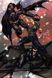 The Dark Knight Rises by emmshin