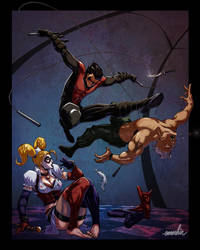Nightwing by emmshin