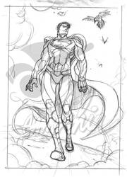 WiP Superman by emmshin