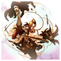Monkey King by emmshin