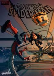 Spider-Man Vs Doctor Octopus by emmshin