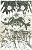 Harley Quinn p15 (pencils) by emmshin