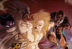 Captain Africa, Purge Vs. Lechcron (Commission) by emmshin