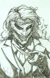 Joker (pencils) by emmshin