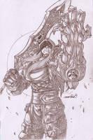 Darksider's War (pencils) by emmshin