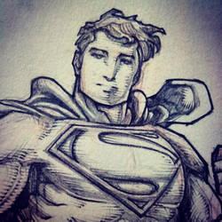 WB Superman (WIP) by emmshin