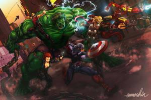 The Avengers (reload) by emmshin