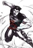 Superboy (pencils) by emmshin