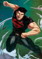 Superboy by emmshin