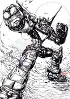 Voltron (inks) by emmshin