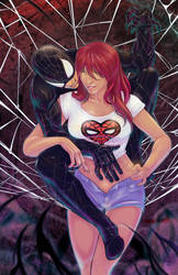 Spidey+MJ by emmshin