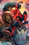 Fear Itself Thing vs. Spider-Man by emmshin