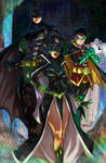 The Batman Family by emmshin