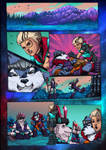 Frontera: Flash of Dawn / Pg#002 (colors) by emmshin