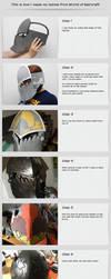 Cosplay tutorial - Helmet of Wow by kurerukreatis