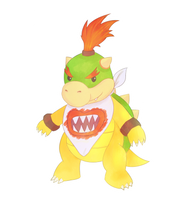Bowser Jr by Tierrin