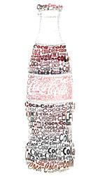 Coca-Cola Typography by 24orange