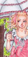 Bookmark Marie-Louis by Anako-Kitsune