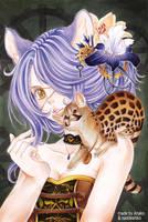 Collab with naddeshiko for pichu-chan by Anako-Kitsune
