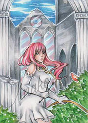 aceo  ruins by Anako-Kitsune