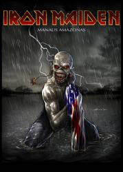Iron Maiden Manaus AM by abraaolucas
