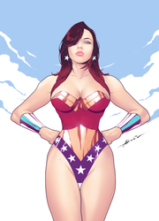 The Wonder Woman by abraaolucas