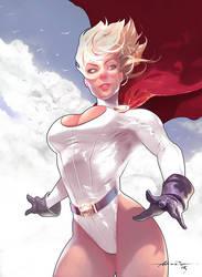 Power Girl by abraaolucas