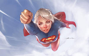Supergirl by abraaolucas
