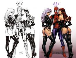 Spiderman --Benes-- by abraaolucas