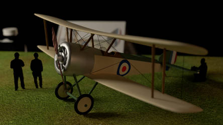 Sopwith Pup for Class by KingRegicon