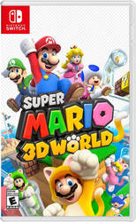 Super Mario 3D World for Nintendo Switch (Idea) by Varimarthas5