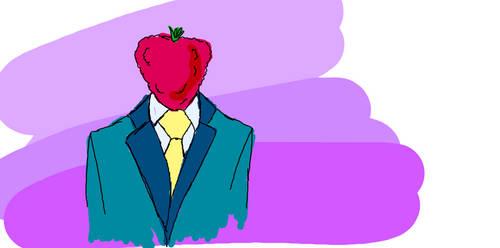 Strawberry Head by phlogiston99