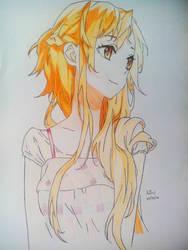 Yuuki Asuna (Sword Art Online) by CureBerry