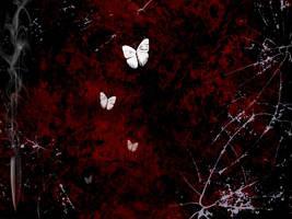 bullet-butterfly wallpaper by 13star