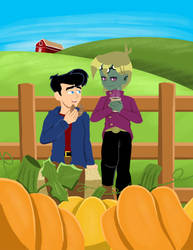 Fall on the Farm by Yu-Gi-Ah