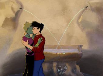 Fountain of Lovers by Yu-Gi-Ah
