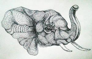 Portrait of an Elephant by artifexToils