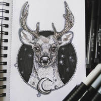 InkTober Day 2: by artifexToils