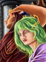 sad princess by ElvensDay