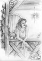 Auf dem Balkon by ElvensDay