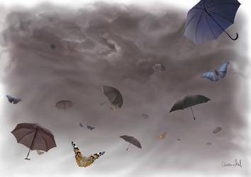 umbrellas by ElvensDay